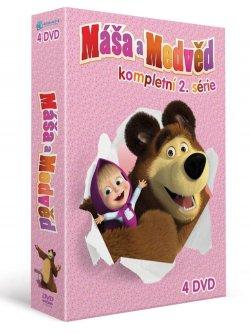 Máša a medvěd 5-8, kolekce 4 DVD