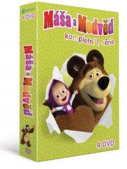 Máša a medvěd 1-4, kolekce 4 DVD