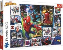 Puzzle: Spiderman 500 dílků