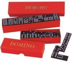 Domino - společenská hra / 55 ks v krabičce