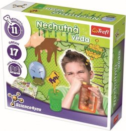 Nechutná věda/Science 4 you - kreativní hračka 23 pokusů v krabici