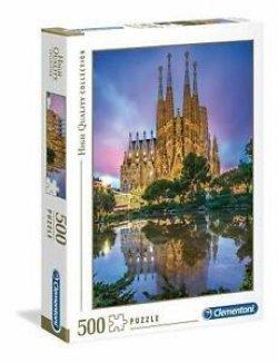 Clementoni Puzzle Barcelona / 500 dílků