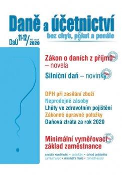 Daně a účetnictví bez chyb, pokut a penále  11-12/2020