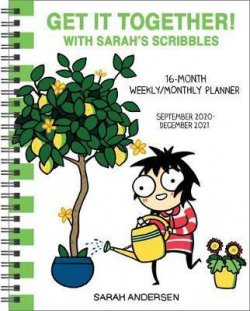 Sarah´s Scribbles 16-Month 2020-2021 Weekly/Monthly Planner Calendar : Get It Together!