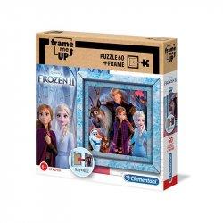 Clementoni Puzzle Frozen 2 v rámečku 60 dílků