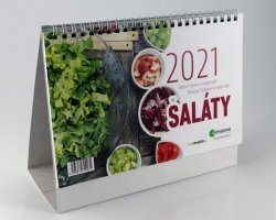 Kalendář 2021 Saláty - stolní