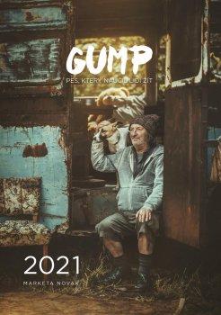 Kalendář 2021 Gump - Pes, který naučil lidi žít