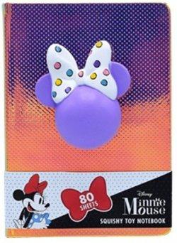 Notebook se squishy hračkou Minnie