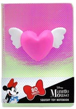 Notebook se squishy hračkou Srdce