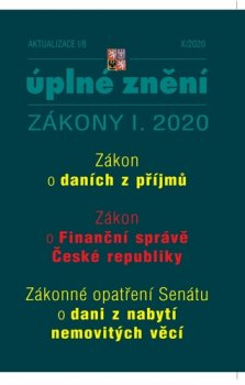 Aktualizace I/8 2020 - ZDP, Zákon o Finanční správě ČR, Zrušení daně z nabytí nemovitých věcí bez náhrady