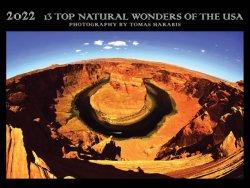 Kalendář 13 TOP Natural Wonders of the USA 2021-2022/dvouletý kalendář