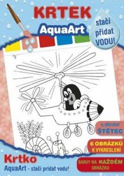 AquaArt Krtek - omalovánka