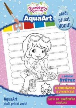 AquaArt Strawberry - omalovánka
