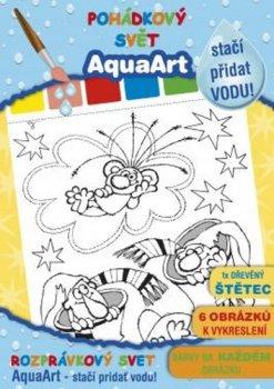 AquaArt Pohádkový svět Z. Smetany - omalovánka