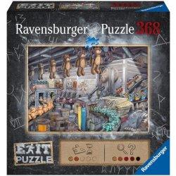 Exit Puzzle V továrně na hračky 368 dílků
