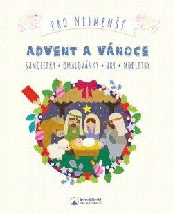Advent a Vánoce pro nejmenší - Samolepky, omalovánky, hry, modlitby