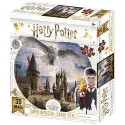 3D Puzzle Harry Potter - Bradavice a Hedvika / 500 dílků