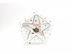 English Tea Shop Dárková lolekce bio čajů červeno-zlatá vánoční hvězda 32 g, 16 ks