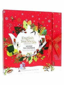 English Tea Shop Adventní kalendář bio čajů, červený 50 g, 25 ks