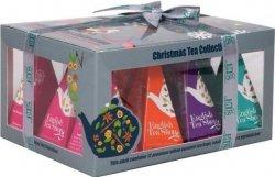 English Tea Shop Vánoční sada bio čajů Vánoční ozdoby 24 g, 12 ks