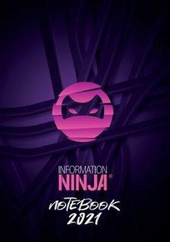 Information Ninja: Notebook 2021 - růžový