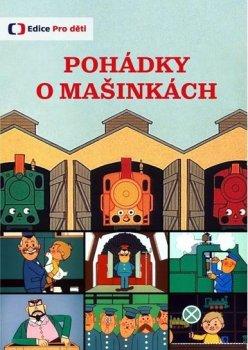 Pohádky o mašinkách (reedice) - DVD