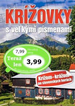 Krížovky s veľkými písmenami Krížom krážom po slovenských horách