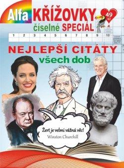 Křížovky číselné speciál 4/2020  - Nejlepší citáty všech dob