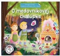Samolepková knižka O medovníkovej chalúpke