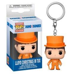 Funko POP přívěsek: Dumb Dumber - Lloyd In Tux (klíčenka Blbý a blbější)