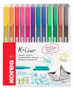 Kores K-Liner Sada 12 barev