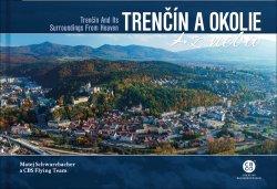 Trenčín a okolie z neba