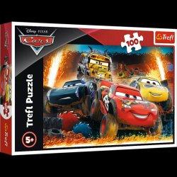 Puzzle Auta 3 / Extrémní závod, 100 dílků
