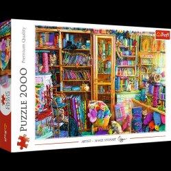 Puzzle Kočičí ráj, 2000 dílků