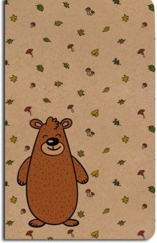 Notes linkovaný Medvěd A5