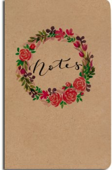 Notes linkovaný Věnec A5