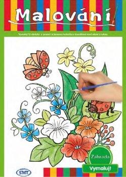 Malování Zahrada 12 obrázků