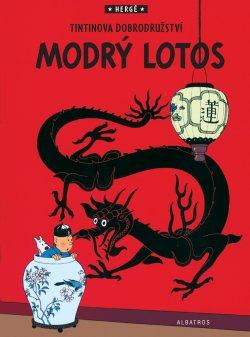 Tintin (5) - Modrý lotos