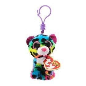 Plyš očka přívěšek barevný gepard