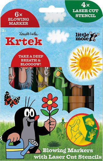 Krtek - Foukací fixy