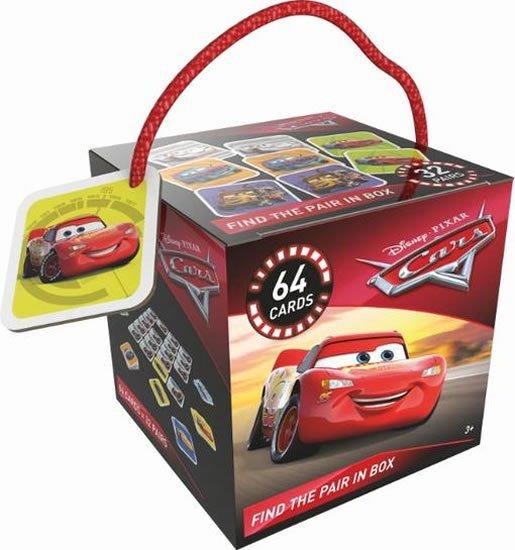 Auta - Pexeso v krabici