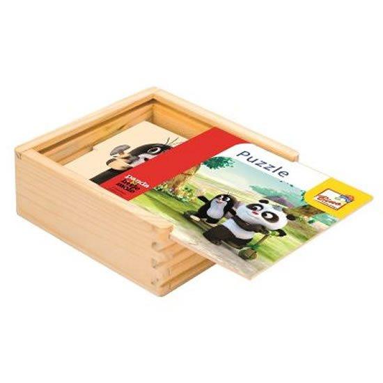 Krtek a Panda: Puzzle natur, 16 dílků