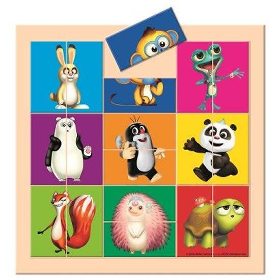 Krtek a Panda: Vkládací puzzle