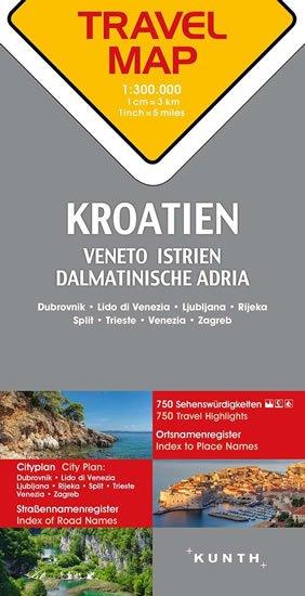Chorvatsko / Istrie / Dalmácie    1:300T