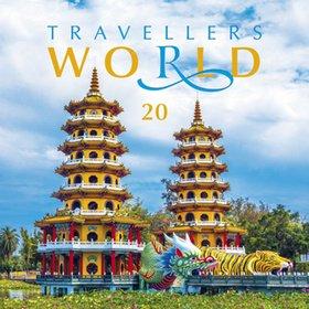 Travellers world 2020 - nástěnný kalendář
