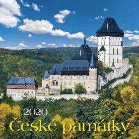 České památky 2020 - nástěnný kalendář