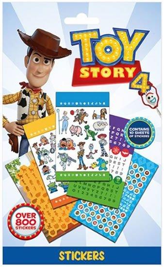 Toy Story 4 - Set 800 samolepek - Characters