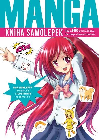 Kniha samolepek: Manga