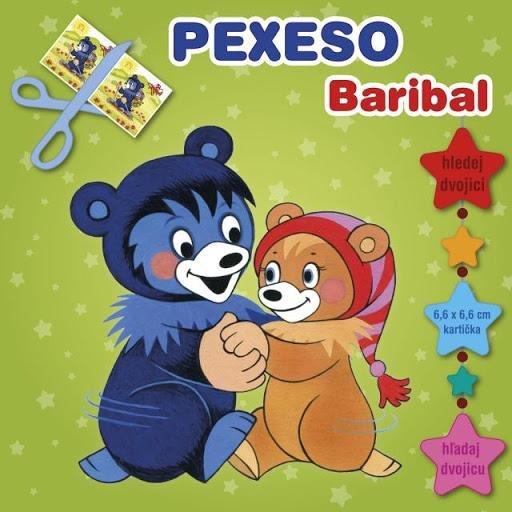 Baribal - pexeso vystřihovací s MAXI kartičkami